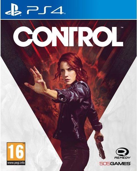 Control PS4 Box Art