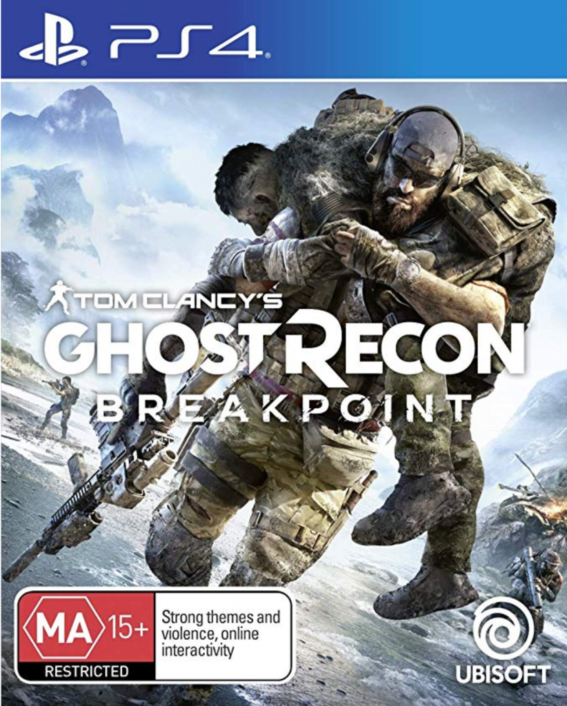 Ghost Recon Breakpoint Box Art