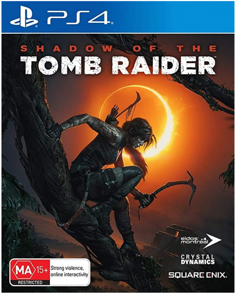 Shadow of the Tomb Raider PS4 Box Art