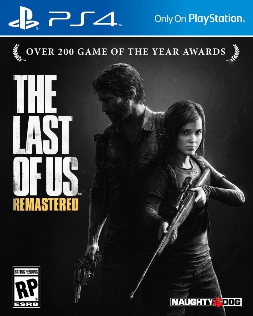 The Last Of Us Remastered PS4 Box Art