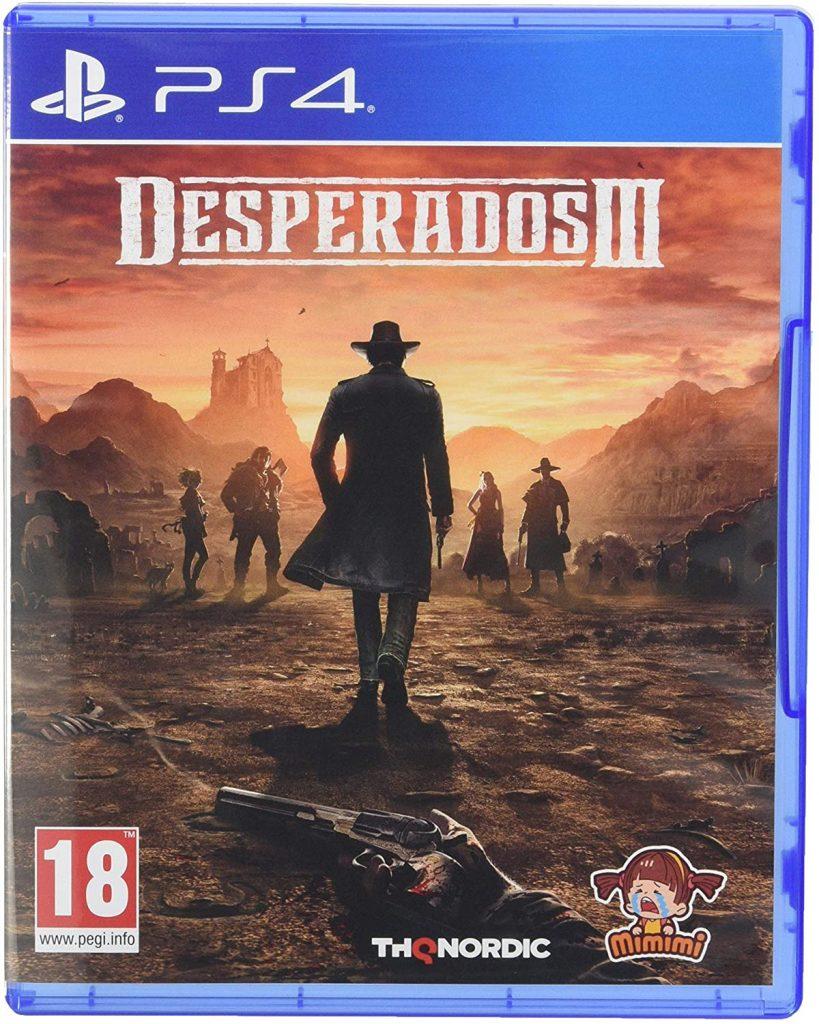 Desperados 3 - PS4 box